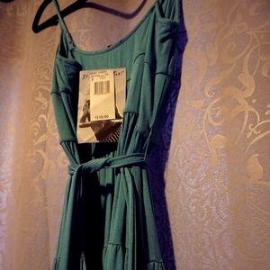 Turquoise Jersey Betsey Johnson Dress